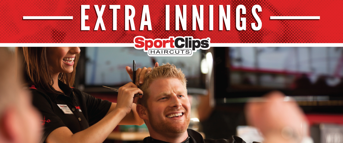 The Sport Clips Haircuts of Monroeville Extra Innings Offerings